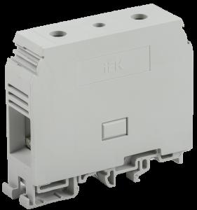 Зажим наборный ЗНИ-95мм2 (JXB330А) серый IEK