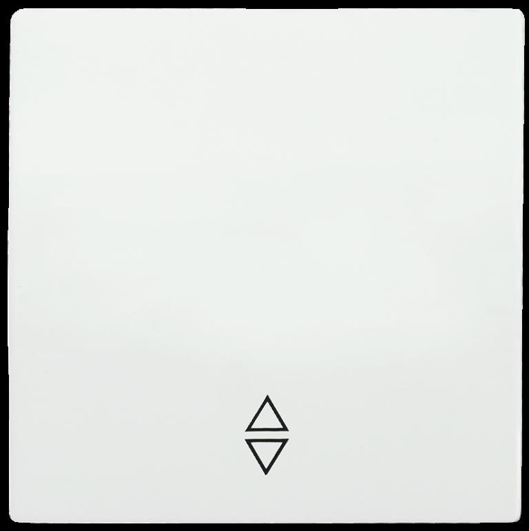 Накладка 1 клавиша для выключателя проходного HB-1-2-ББ BOLERO белый IEK