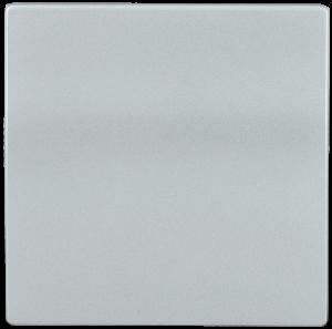 Накладка 1 клавиша HB-1-0-БС BOLERO серебряный IEK