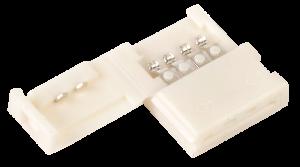 Коннектор 10шт RGB 10мм (разъем-разъем) IEK
