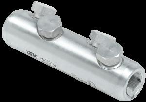 Алюминиевая механическая гильза со срывными болтами АМГ 70-240 до 35кВ IEK