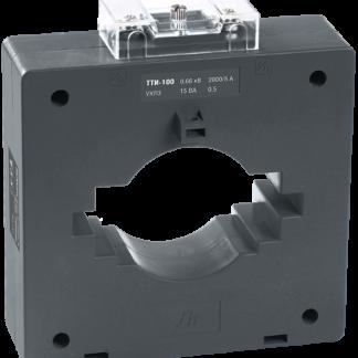 Трансформатор тока ТТИ-100 2000/5А 15ВА класс 0,5 IEK