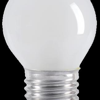 Лампа накаливания G45 шар матовая 40Вт E27 IEK
