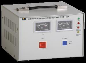 Стабилизатор напряжения СНИ1-1 кВА однофазный IEK