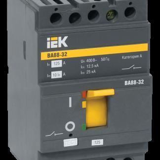 Автоматический выключатель ВА88-32 3Р 12,5А 25кА IEK