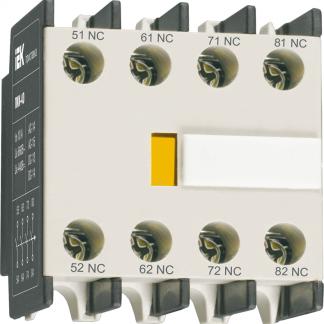 Приставка ПКИ-20 дополнительные контакты 2з IEK