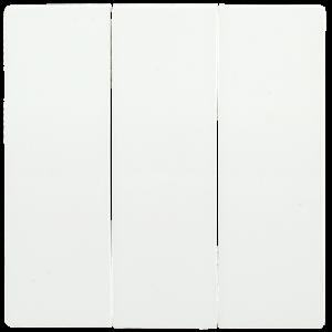 Накладка 3 клавиши HB-3-0-ББ BOLERO белый IEK