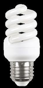 Лампа энергосберегающая КЭЛ-FS спираль Е27 11Вт 4000К Т2 IEK