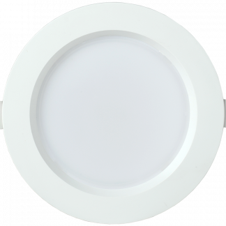 Светильник светодиодный ДВО 1702 круг 12Вт 3000K IP40 белый IEK