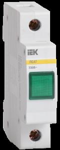 Сигнальная лампа ЛС-47 (зеленая) (неон) IEK