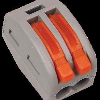 Строительно-монтажная клемма СМК 222-412 (4шт/упак) IEK