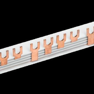 Шина соединительная типа FORK (вилка) 4Р 63А (длина 1м) IEK