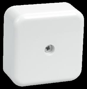 Коробка распаячная КМ для о/п 50х50х20мм белая IEK