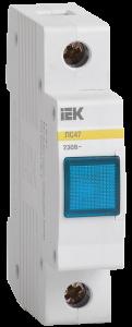 Сигнальная лампа ЛС-47 (синяя) (неон) IEK