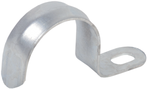 Скоба металлическая однолапковая d31-32мм IEK