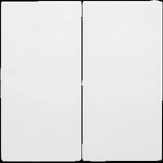 Накладка 2 клавиши HB-2-0-ББ BOLERO белый IEK