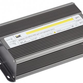 Драйвер LED ИПСН-PRO 200Вт 12В блок-шнуры IP67 IEK