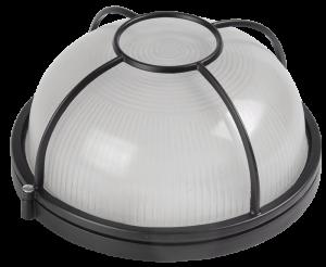 Светильник НПП1104 круг солнце 100Вт IP54 белый IEK
