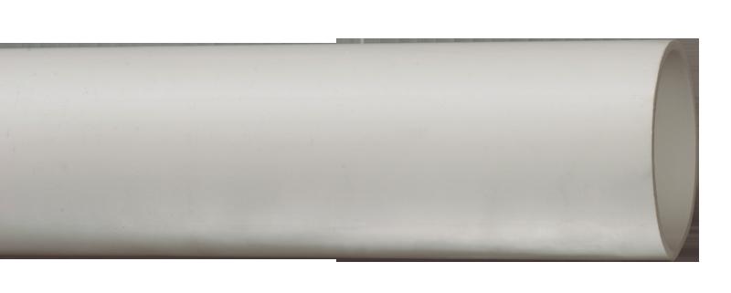 Труба гладкая жесткая ПВХ d=63мм серая (15м) 3м IEK