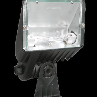 Прожектор галогенный ИО300К IP33 черный IEK