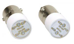 Лампа сменная зеленая матрица/220В IEK