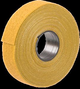 Хомут-липучка ХКл 20мм желтый (5м/ролл) IEK