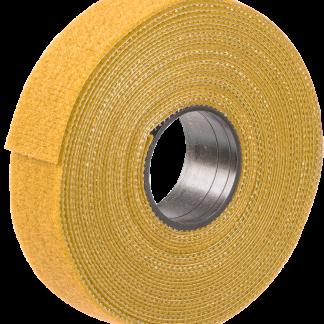 Хомут-липучка ХКл 16мм желтый (5м/ролл) IEK