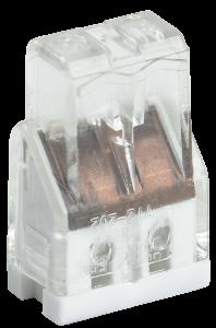 Строительно-монтажная клемма СМК 772-202 компактная (4шт/упак) IEK