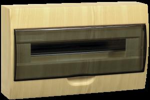 Бокс ЩРН-П-18 модулей навесной пластик (Сосна) IP41 IEK