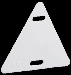 Бирка кабельная У-136 (треугольник 55х55х55мм) IEK