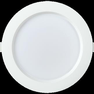 Светильник светодиодный ДВО 1703 круг 18Вт 4000K IP40 белый IEK