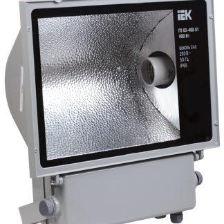 Прожектор металлогалогенный ГО03-400-01 симметричный 400Вт E40 IP65 серый IEK