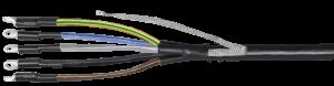 Муфта кабельная ПКВтпбэ 5х16/25 б/н ППД ПВХ/СПЭ изоляция 1кВ IEK