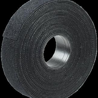 Хомут-липучка ХКл 20мм черный (5м/ролл) IEK