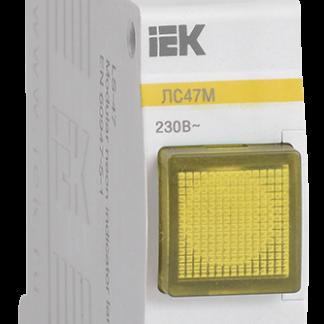 Сигнальная лампа ЛС-47М (желтая) (матрица) IEK
