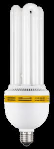 Лампа энергосберегающая КЭЛ-4U Е27 55Вт 6500К IEK