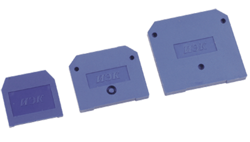 Заглушка для ЗНИ-16мм2 (JXB100A) синяя IEK