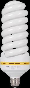 Лампа энергосберегающая КЭЛ-FS спираль Е27 65Вт 4000К IEK