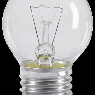 Лампа накаливания G45 шар прозрачная 60Вт E27 IEK