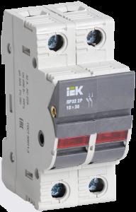 Предохранитель-разъединитель с индикацией ПР32 2P 10х38 32А IEK
