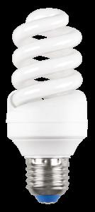 Лампа энергосберегающая КЭЛP-FS спираль Е27 20Вт 4000К IEK-eco
