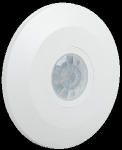 Датчик движения ДД-026 2000Вт 360град 6м IP20 белый IEK