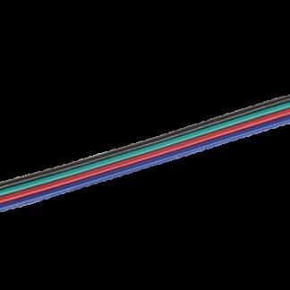 Коннектор 5шт RGB 10мм (разъем-15см-разъем) IEK