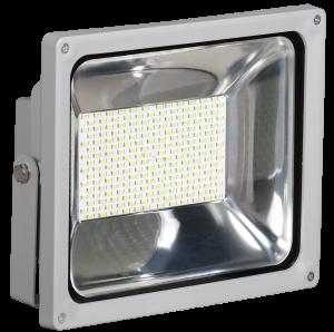 Прожектор светодиодный СДО 04-100 SMD IP65 серый IEK