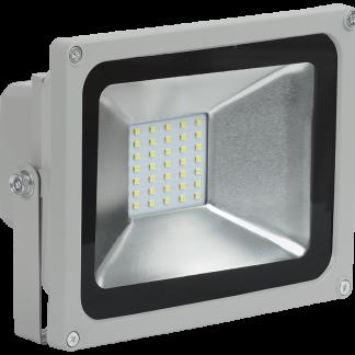 Прожектор светодиодный СДО 05-20 SMD IP65 серый IEK