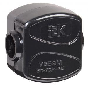 Зажим кабельный ответвительный У-859М (50-70/4-35мм2) IP20 IEK