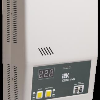 Стабилизатор напряжения настенный серии Ecoline 10 кВА IEK
