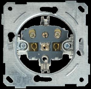 Розетка РС11-1-0-Б с заземляющим контактом 16А BOLERO IEK