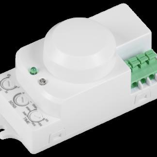 Датчик движения ДД-МВ201 1200Вт 360град 8м IP20 белый IEK