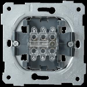 Выключатель 3-клавишный ВС10-3-0-Б 10А BOLERO IEK